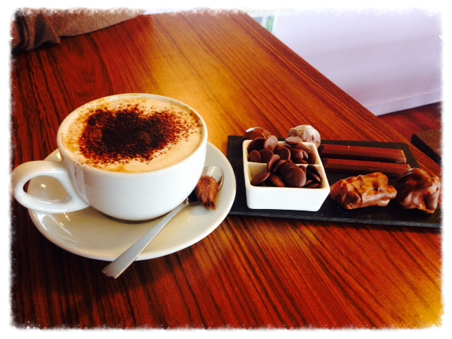 Oban Chocolate Company coffe and tasting platter