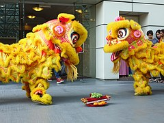 Chinese New Year - Lion Dancing