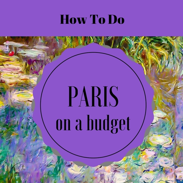How To Do Paris On A Budget: Sightseeingshoes