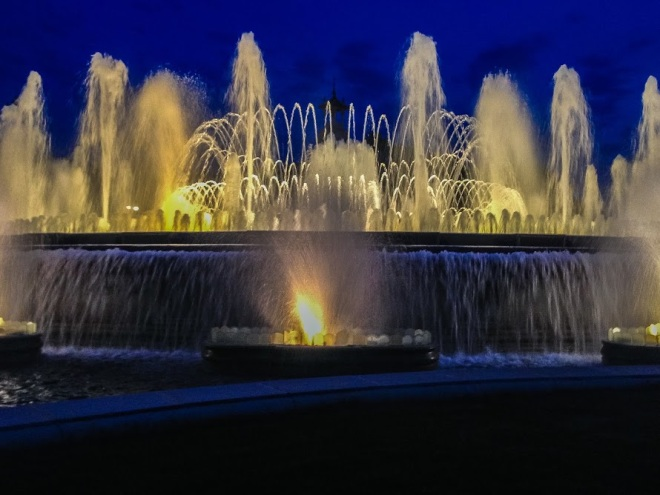 Barcelona: The Magic Fountain at Montjuic