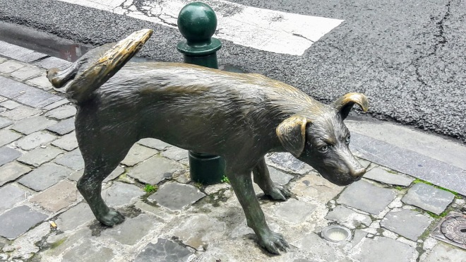 Brussels, Belgium: The Peeing Trio
